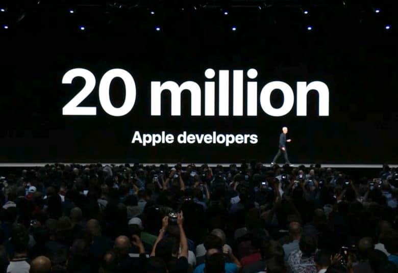 wwdc 20 million developers