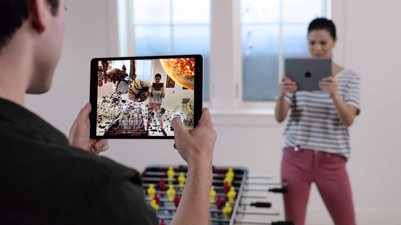 iOS 12's fancy AR won't require new hardware.