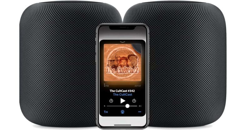 CultCast HomePods 342