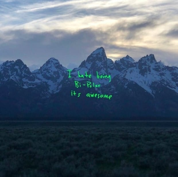 Kanye West Ye album cover was shot on iPhone.