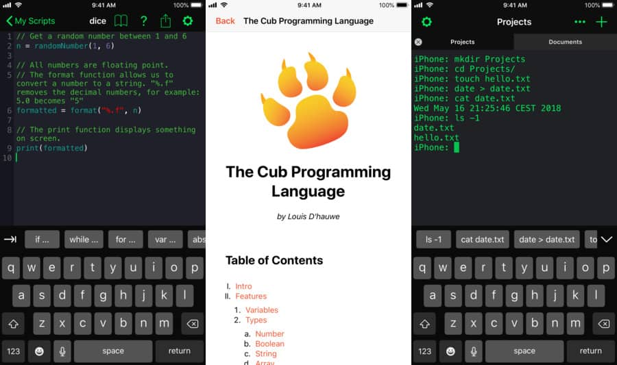 OpenTerm 2.0 is a terminal for iOS.