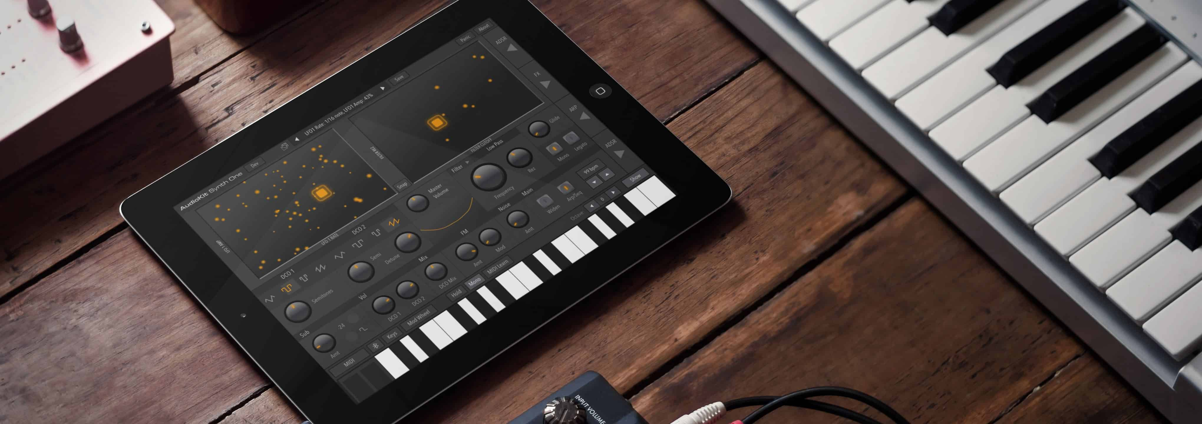 Synth One is an incredible synth app for iOS.