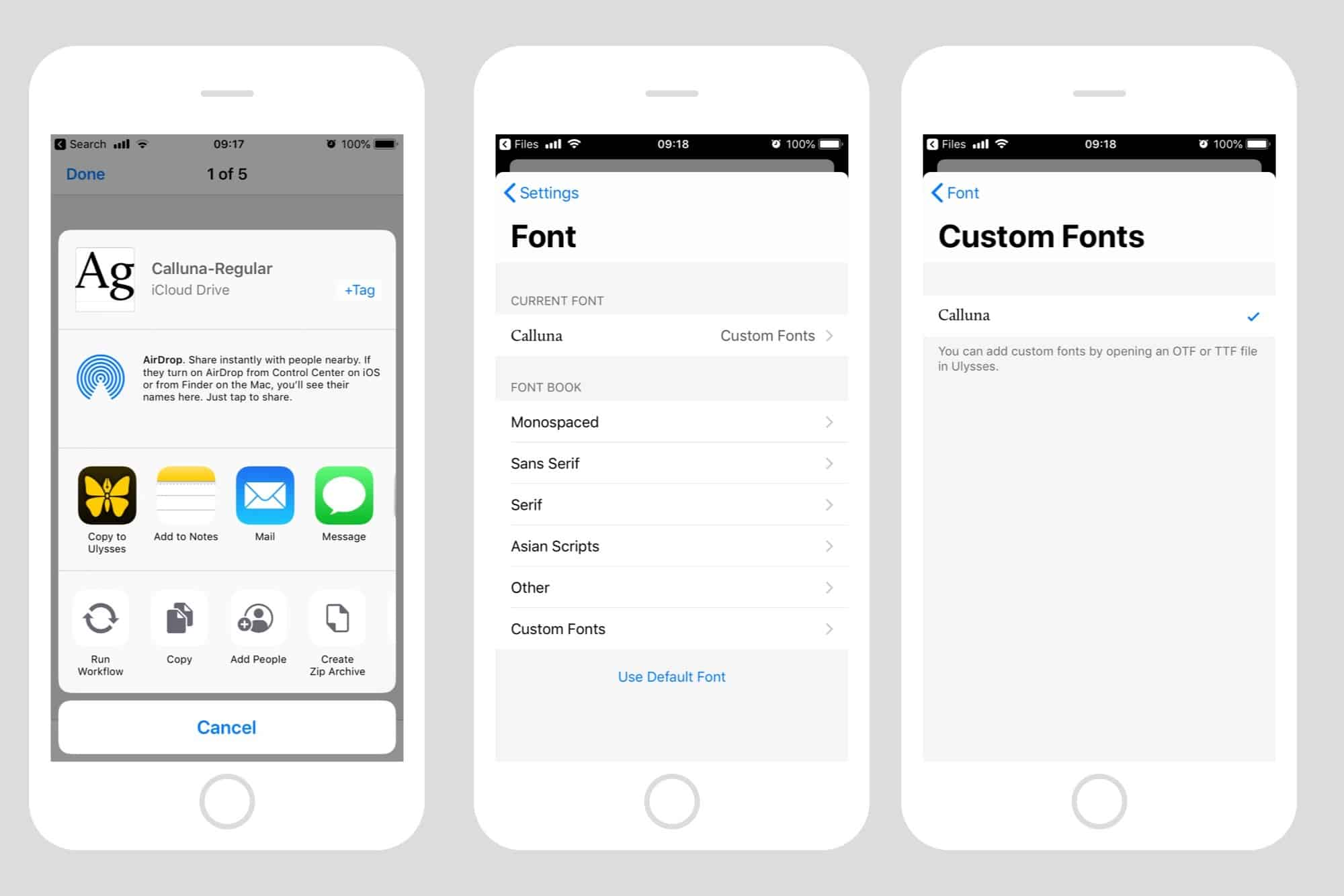 How to install custom fonts on your iPhone or iPad | Cult of Mac