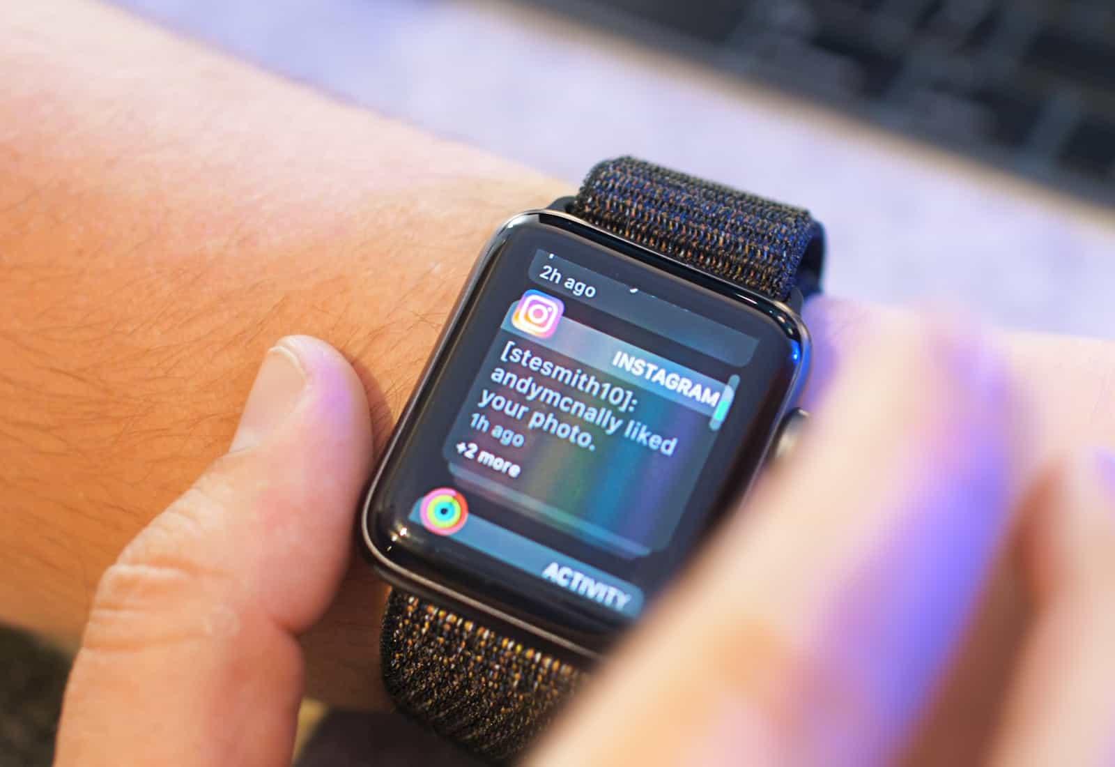 watchOS 5 Apple Watch