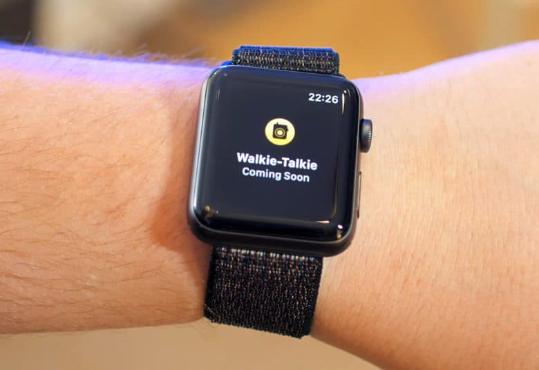 Unfortunately, the Walkie-Talkie feature isn't up and running in the first build of watchOS 5.