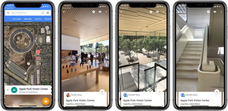 Google Street View App Adds iPhone X Support