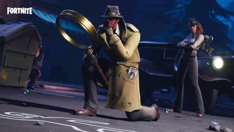 Fortnite Hardboiled set