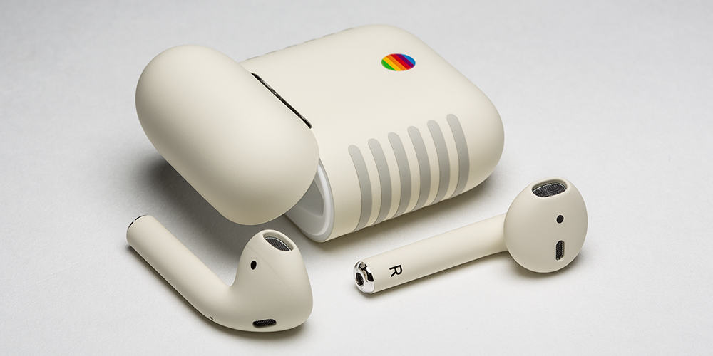 AirPods Retro Bring a Classic Macintosh Vibe to Apple's Buds