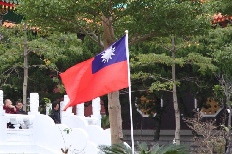 IPhone crash? Might have been China's dislike for Taiwan's flag