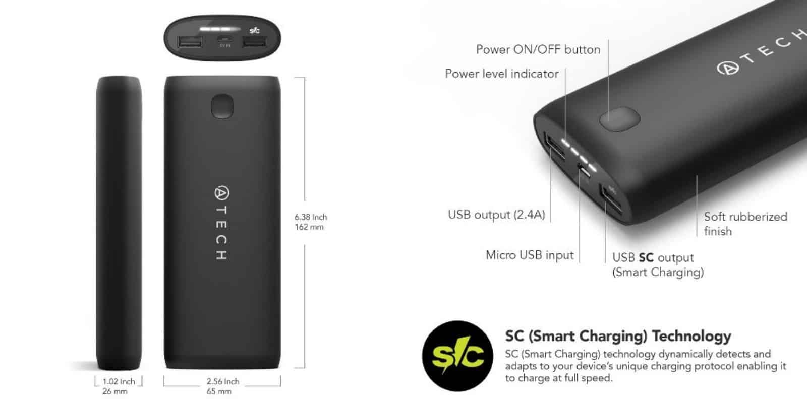 This compact portable battery sports massive capacity and a bunch of safety features.