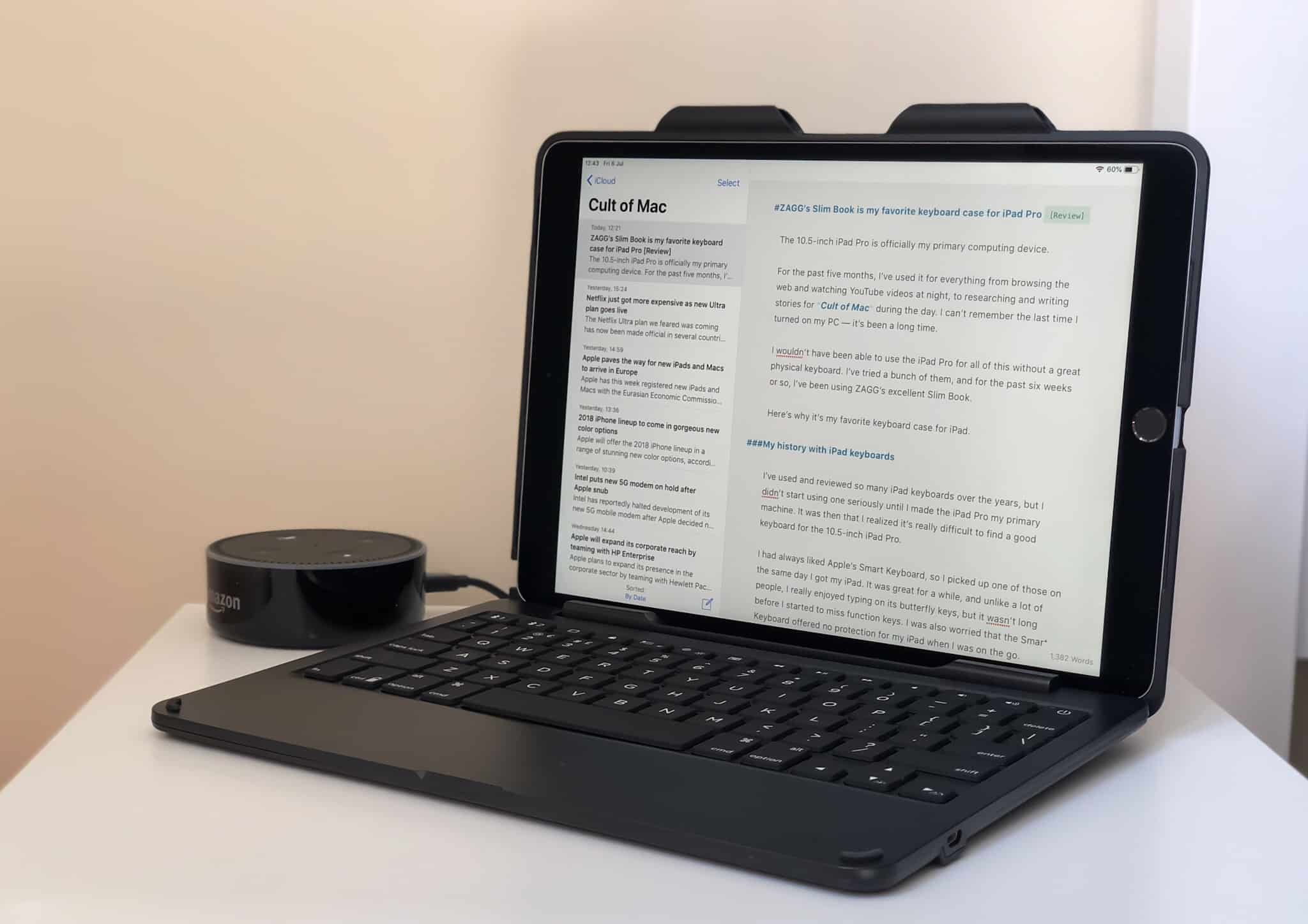 ZAGG Slim Book for iPad Pro