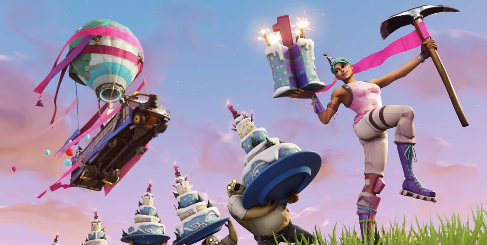 Fortnite first birthday