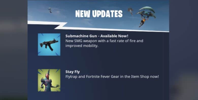 Fortnite 5.0 Content Update To Drop Soon