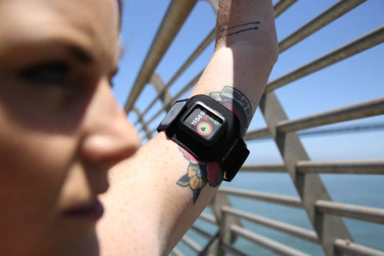 You're ready for action. Is your Apple Watch? The Twelve South ActionSleeve is made for workouts.