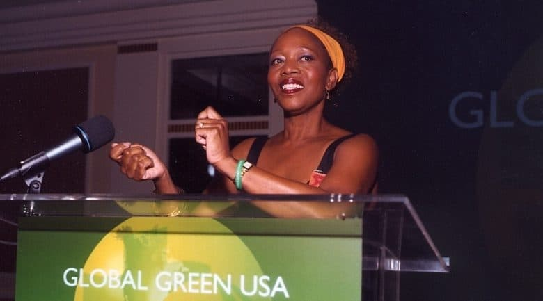 Alfre Woodward at Global Green USA's 12th Annual Millennium Awards.