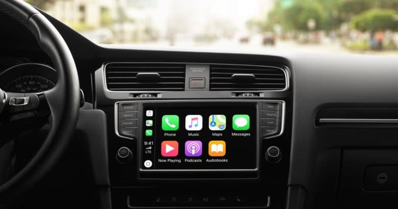 Apple CarPlay offers less distracted driving.