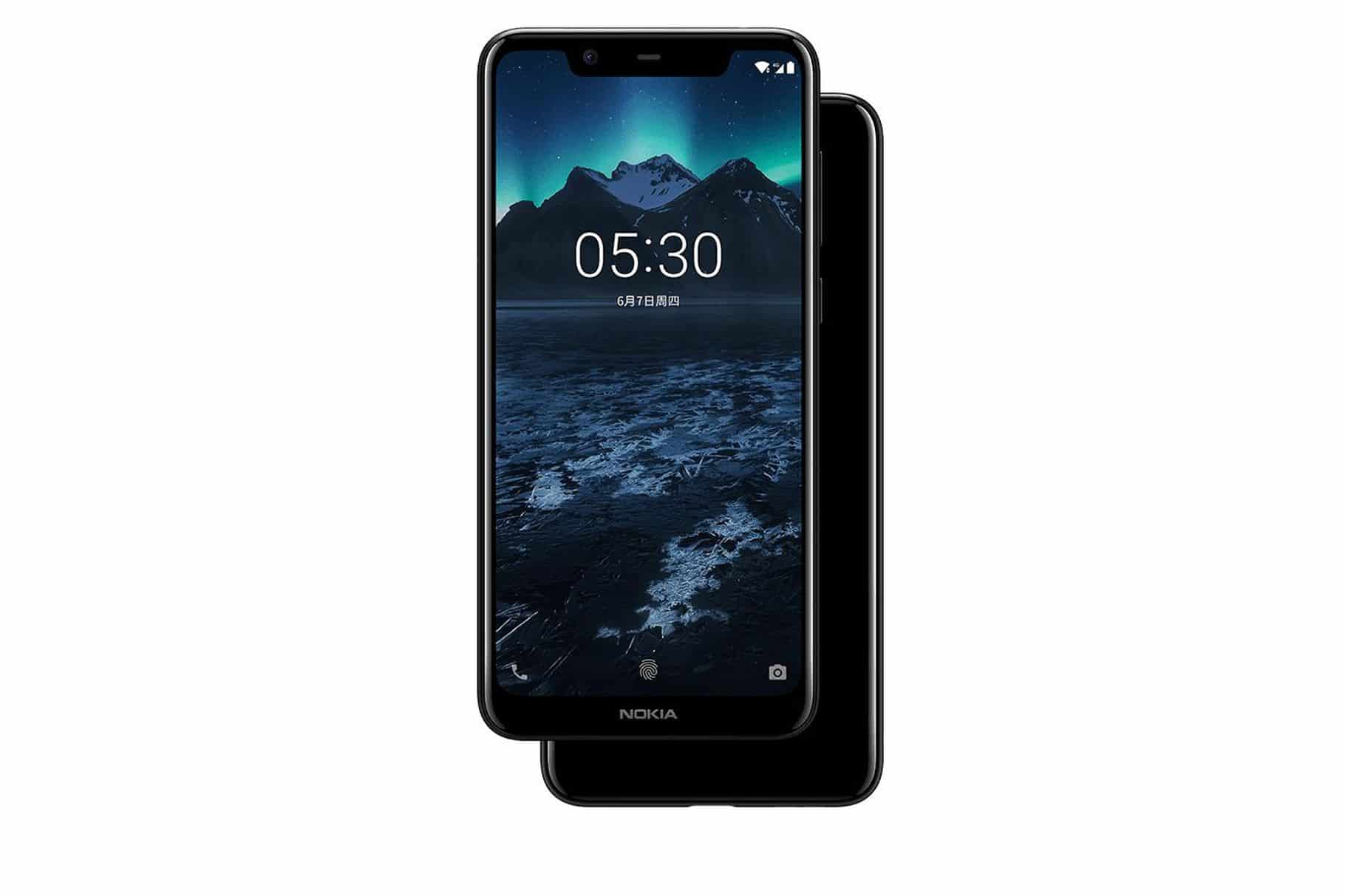 Nokia X5 iPhone X clone