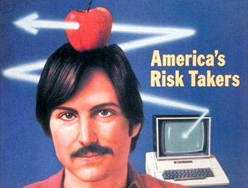 Steve Jobs on the cover of Time magazine in 1982.