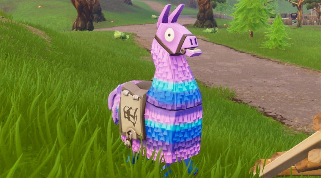 Fortnite supply llama
