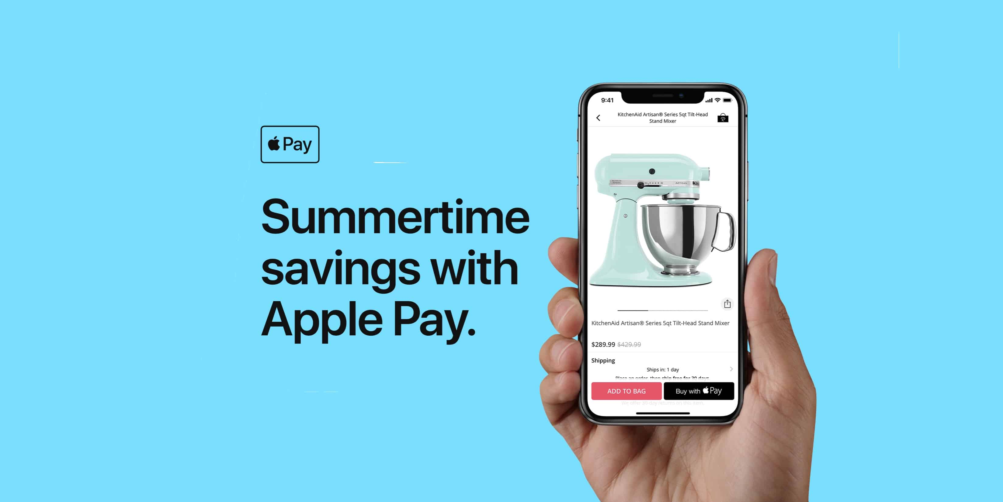 There are deals to had this summer if you just use Apple Pay.