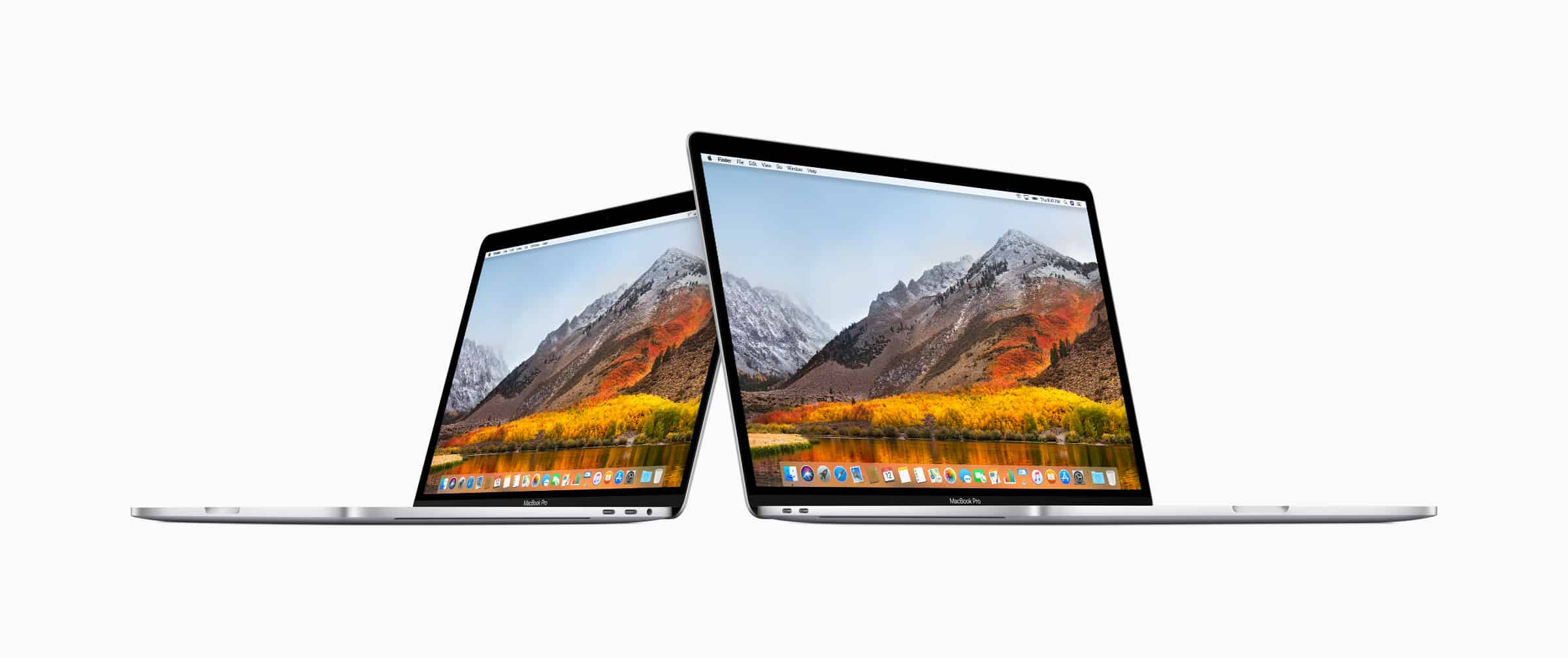 The new 13-inch and 15-inch MacBook Pro models with Touch Bar up the ante for pro users.
