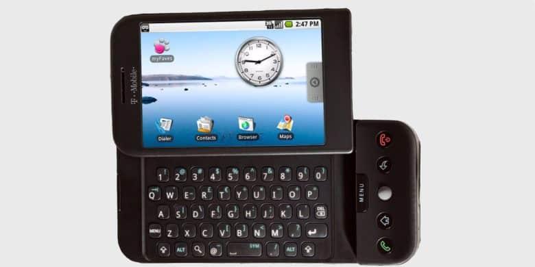 HTC Dream was the first Android phone.