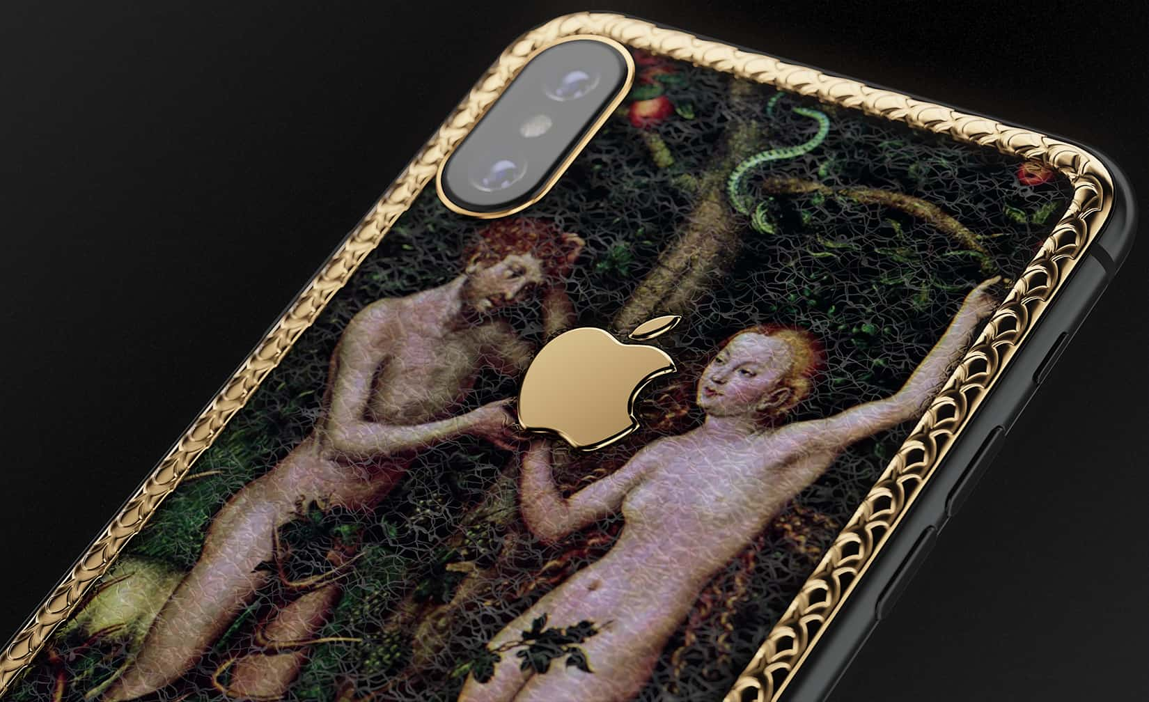 Luxury Adam and Eve iPhones will Tempt You in the Best Way