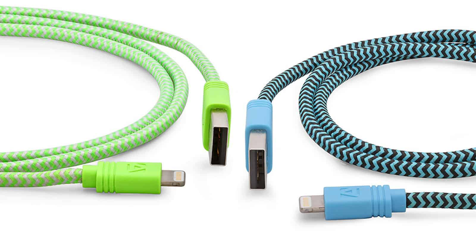 Cloth Lightning Cables
