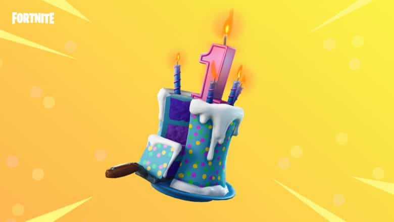 Fortnite birthday cake rewards