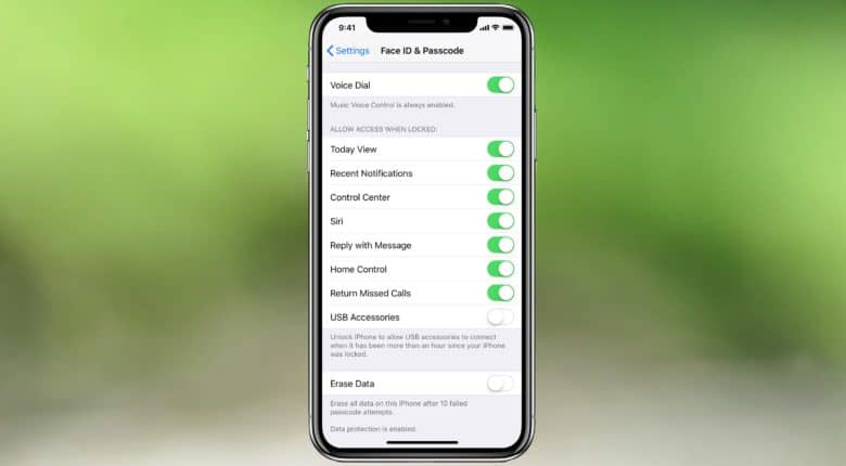How to enable USB Restricted Mode in iOS 11.4.1