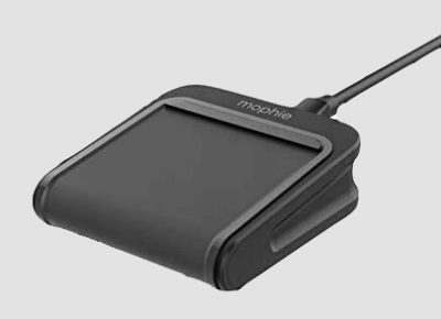 The mophie Charge Stream Pad Mini is the heart of this travel.