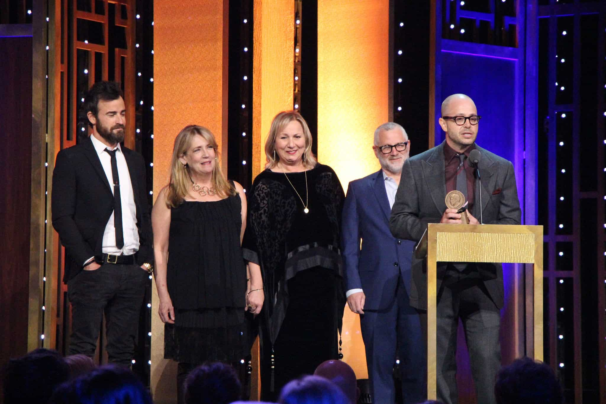 Producer/director Mimi Leder, center, worked on award-winning series The Leftovers.