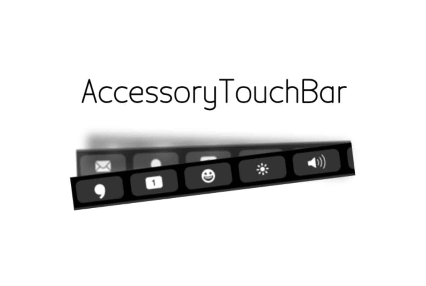 TouchBar concept