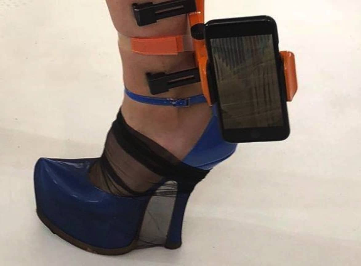 This Foot-based iPhone Holder Makes the Selfie Stick Look Sane