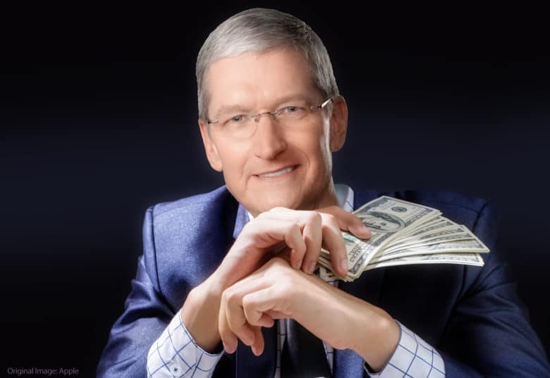 Tim Cook earnings apple