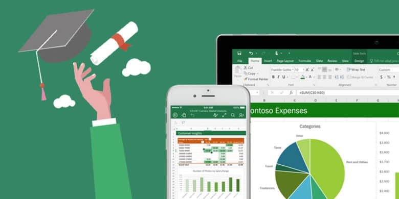 Score a comprehensive education and certification in Microsoft Excel.