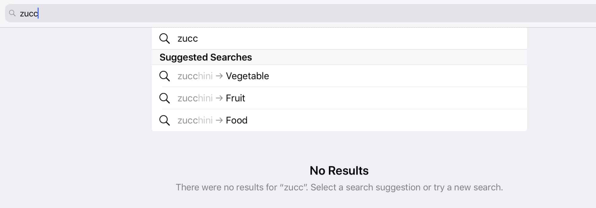 Zucchini as fruit?!
