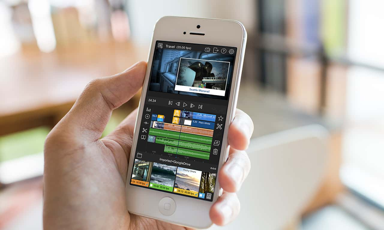 LumaFusion is like Final Cut for your iPhone or iPad