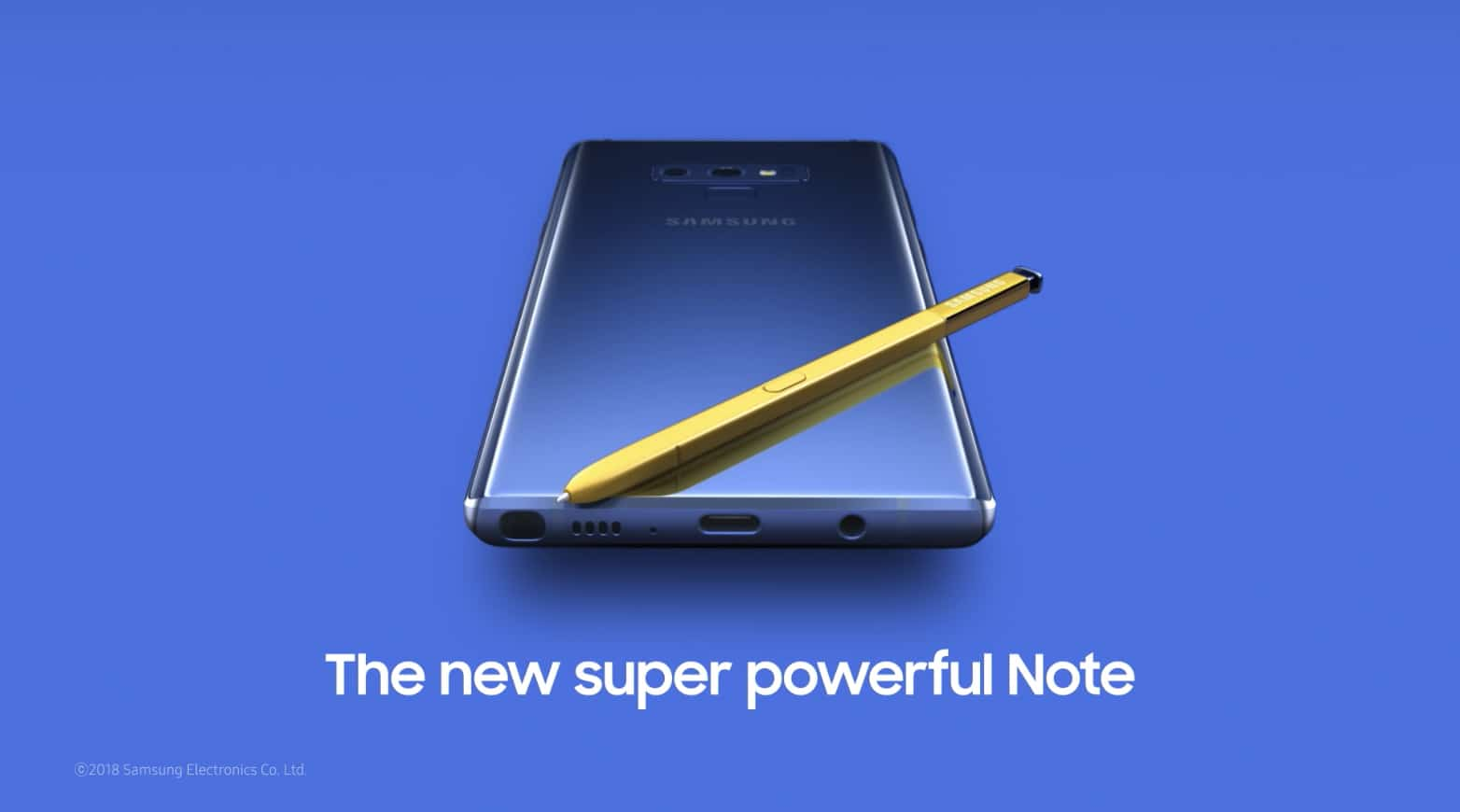 Samsung leaks Galaxy Note 9 early