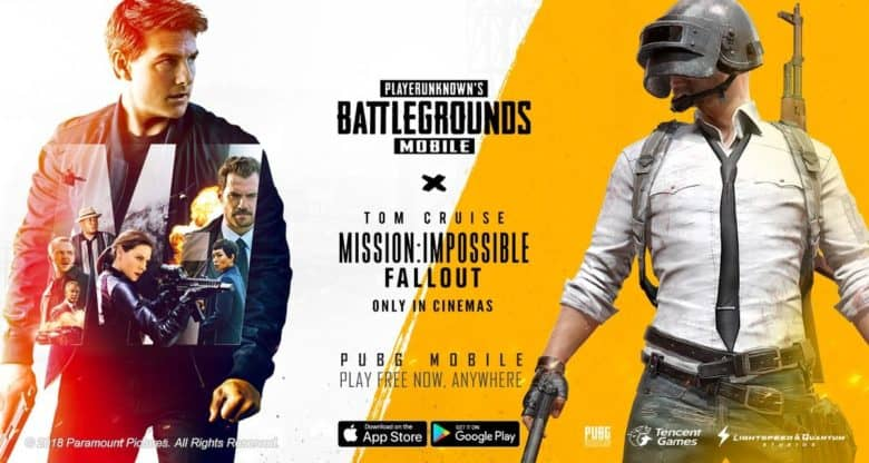 PUBG Mobile teams with Mission: Impossible - Fallout