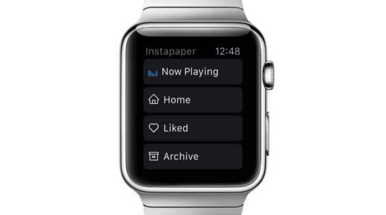 Instapaper for Apple Watch