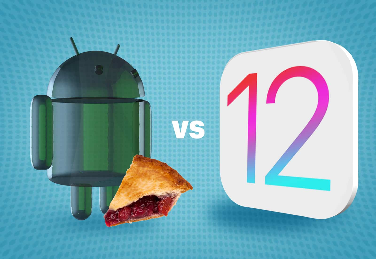 Which wins the features arms race, Android 9 Pie vs. iOS 12? Here's how they compare.