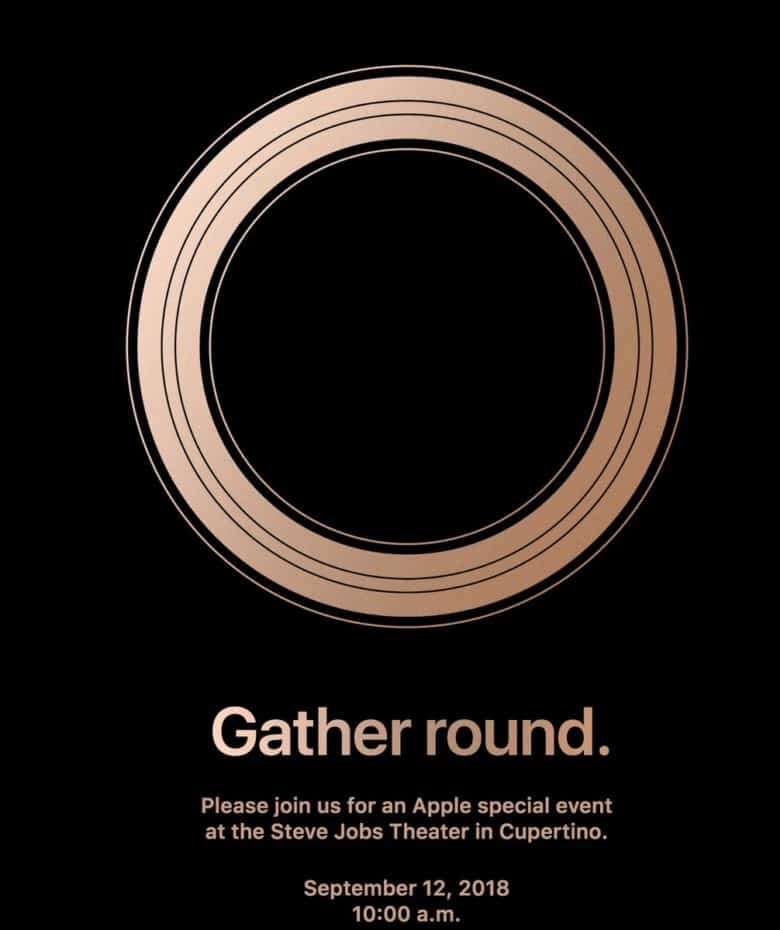 Apple Sept. 12 event
