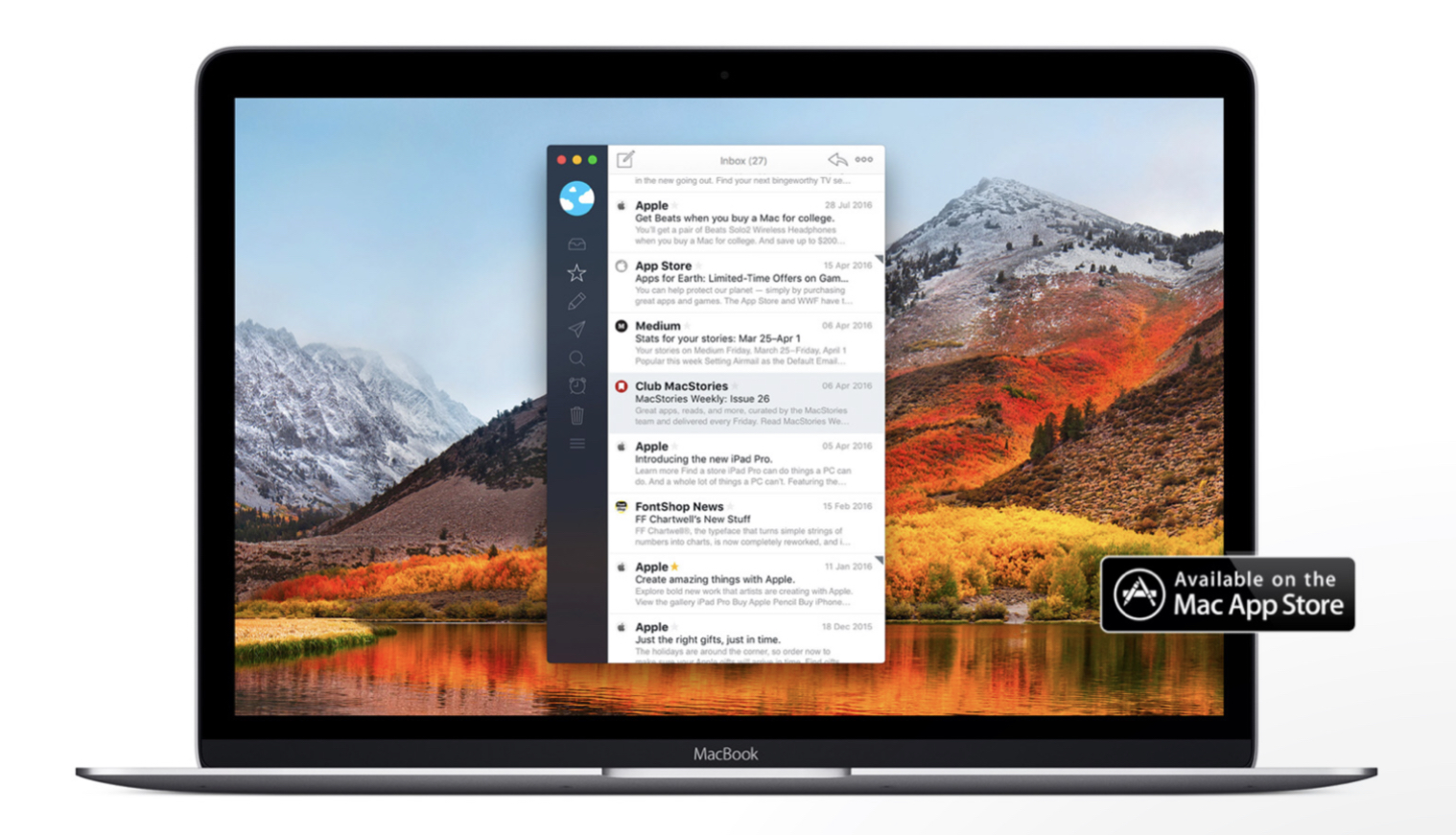 Airmail 3 on macOS