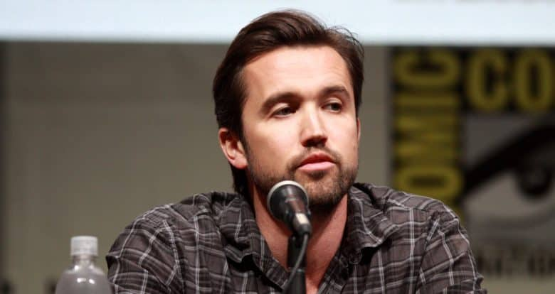 Rob McElhenney, one of the writers of It's Always Sunny in Philadelphia, has teamed up with an old partner on a new Apple TV show.