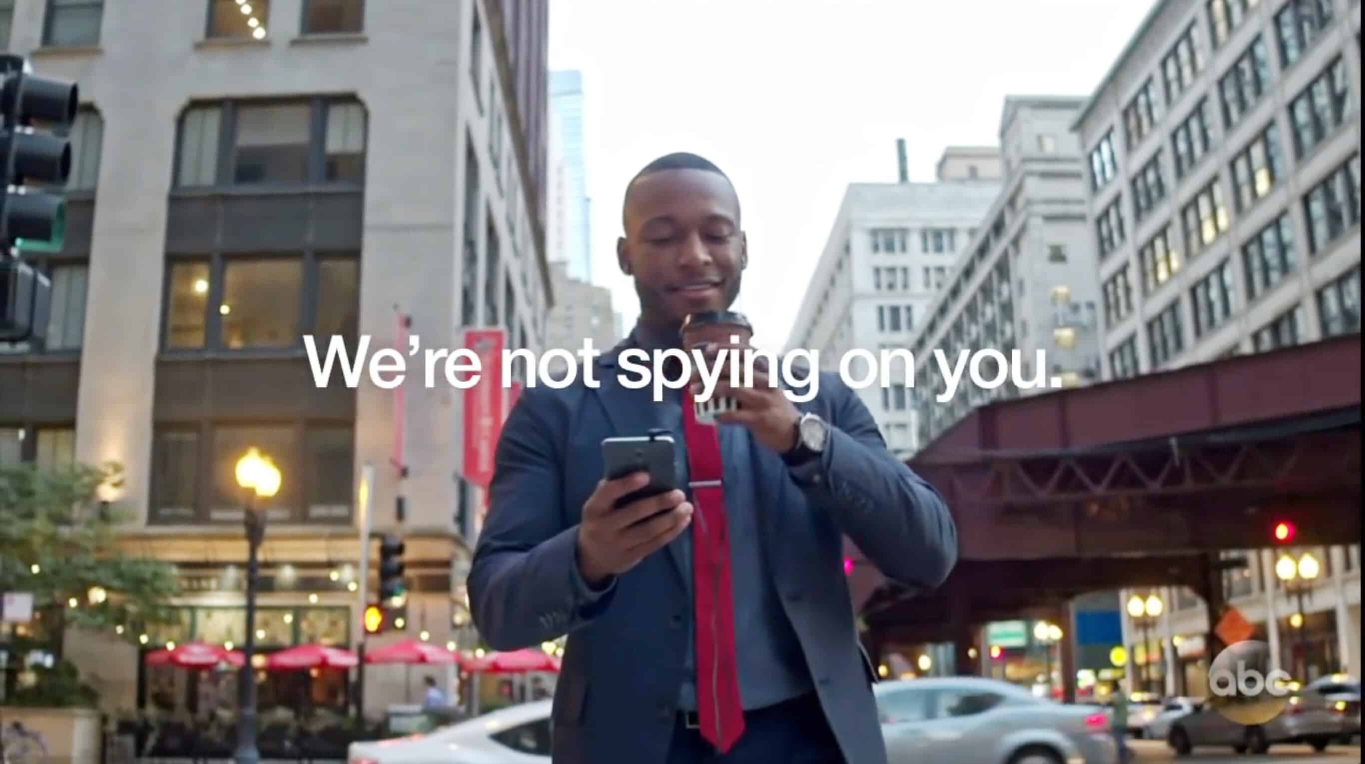 A late-night comedian pokes fun at our paranoia about iPhone privacy violations.