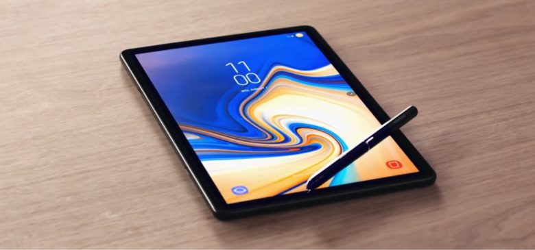 The Galaxy Tab S4 is clearly designed to take on the 10.5-inch iPad Pro.