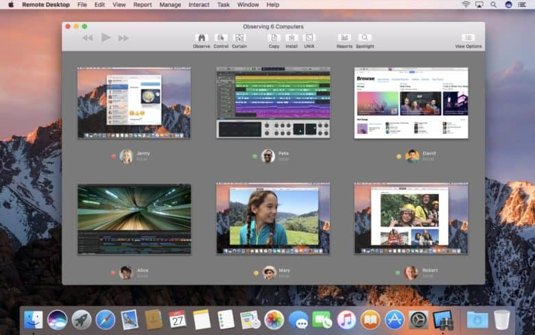 Apple Remote Desktop is one of the applications that replaces Back to My Mac.