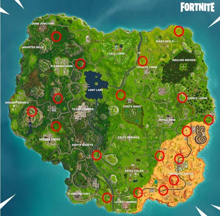 Fortnite rift locations