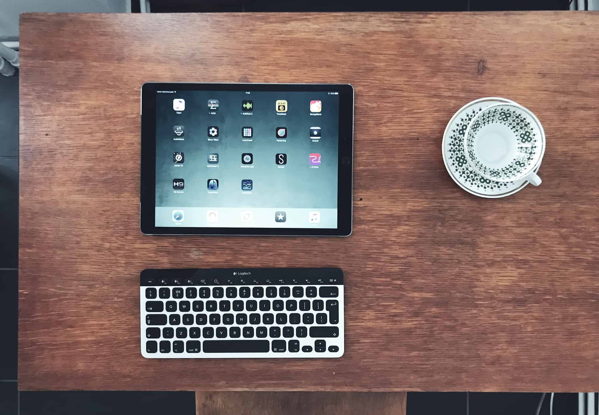 A keyboard is easy to connect, and makes your iPad way better.